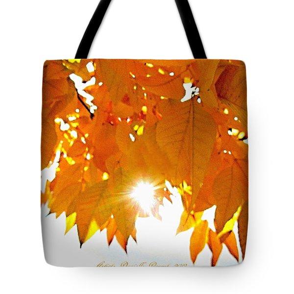 Sun Kissed  Deciduous Tote Bag by Danielle  Parent