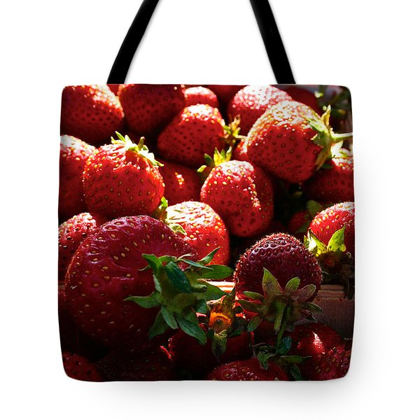 Sun Ripened Tote Bag by Susan Herber