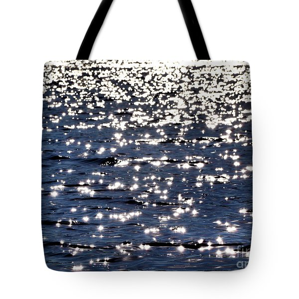 Sun Sparkle On Blue Waters Tote Bag