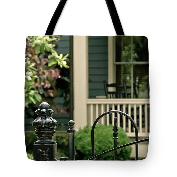Sunday Afternoon In Doylestown Tote Bag
