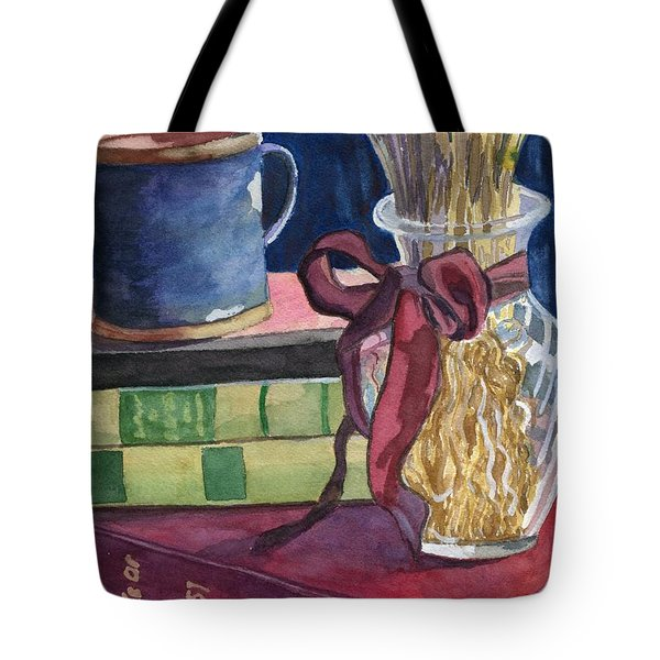 Sunday Afternoon Tote Bag by Lynne Reichhart