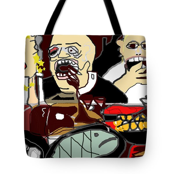 Sunday Dinner Tote Bag