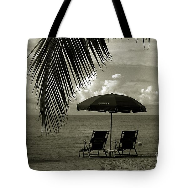 Sunday Morning In Key West Tote Bag by Susanne Van Hulst