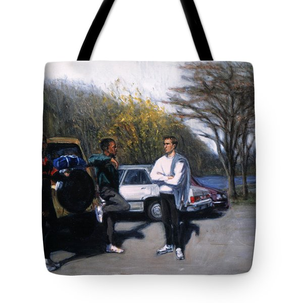 Sunday Run Tote Bag by Sarah Yuster