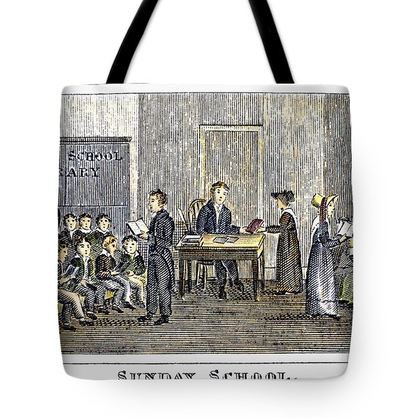 Sunday School, 1832 Tote Bag by Granger