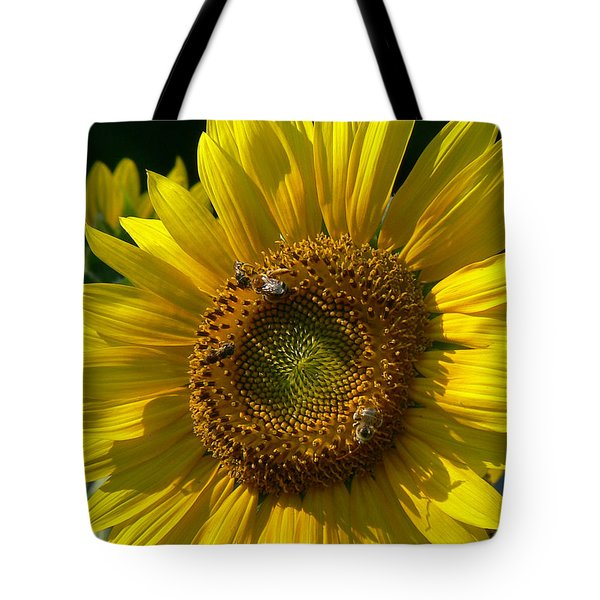 Sunflower 4 Tote Bag by EricaMaxine  Price