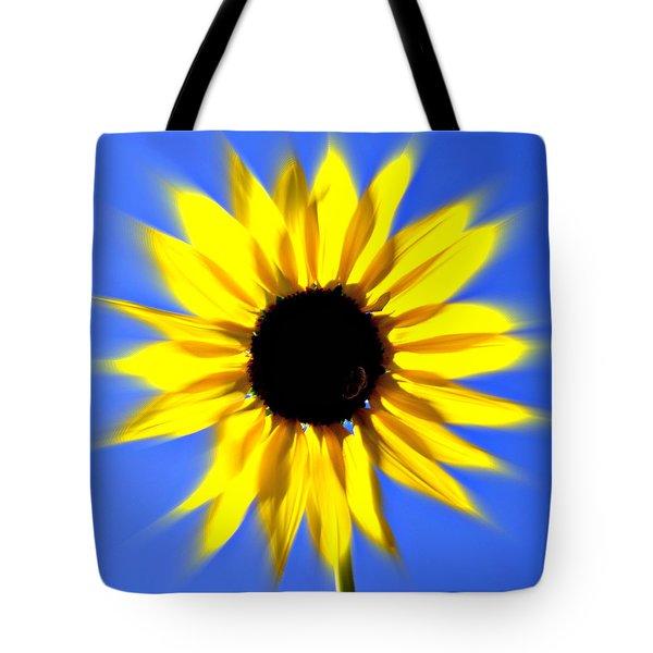 Sunflower Burst Tote Bag by Marty Koch
