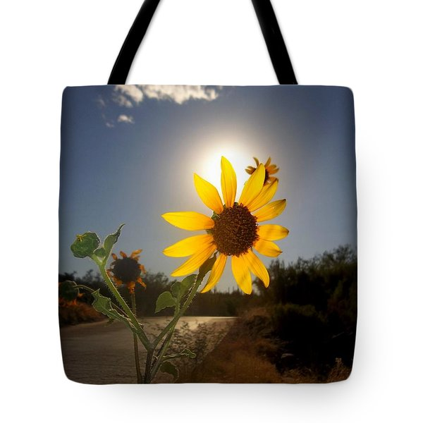 Sunflower Tote Bag by Mistys DesertSerenity
