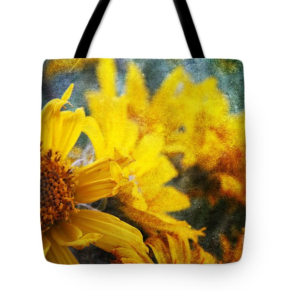 Sunflowers Tote Bag by Alyce Taylor