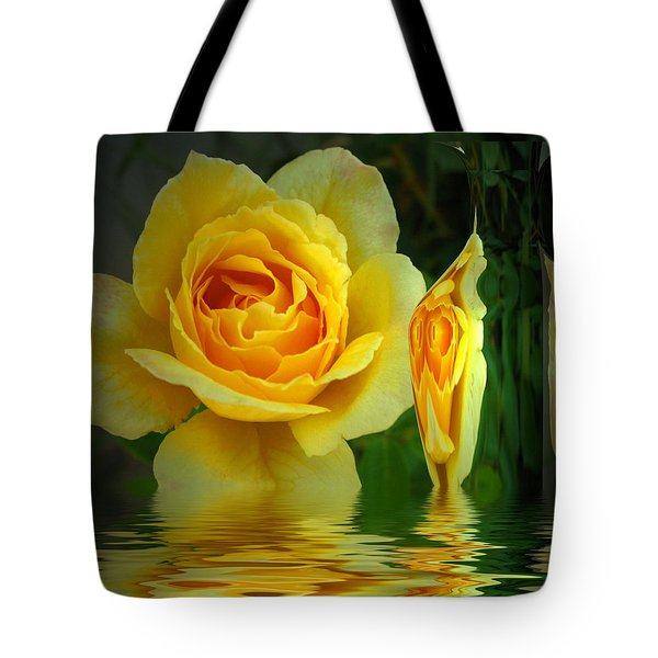 Sunny Delight And Vase 2 Tote Bag by Joyce Dickens