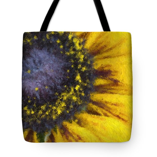 Sunny Yellow Tote Bag by Heidi Smith