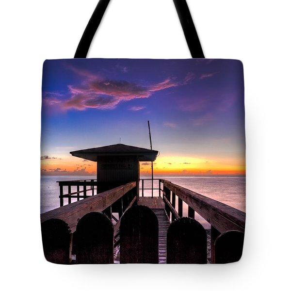 Sunrise Angel Tote Bag by Debra and Dave Vanderlaan