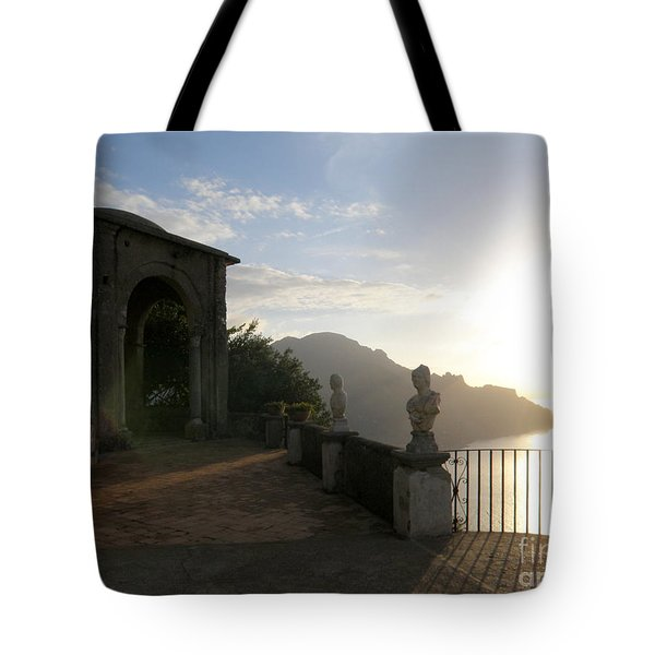 Sunrise In Ravello Tote Bag by Tanya  Searcy