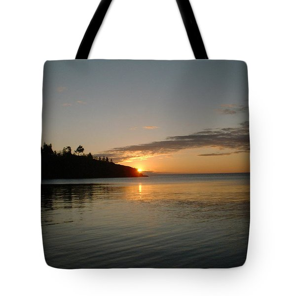 Sunrise On Superior Tote Bag