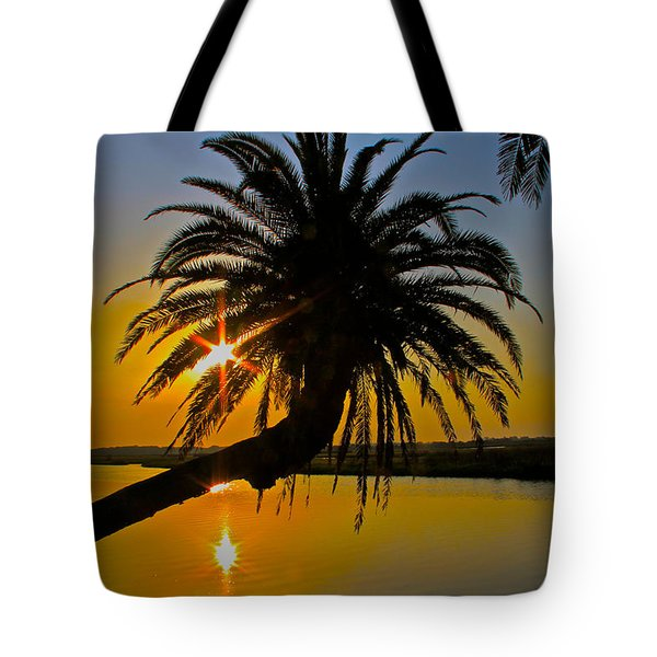 Tote Bag featuring the photograph Sunrise On The Loop by Alice Gipson