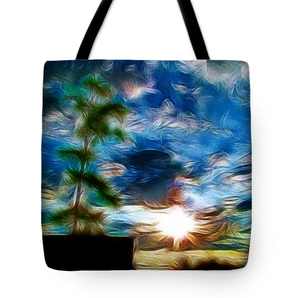 Sunrise Over Smithfield Tote Bag