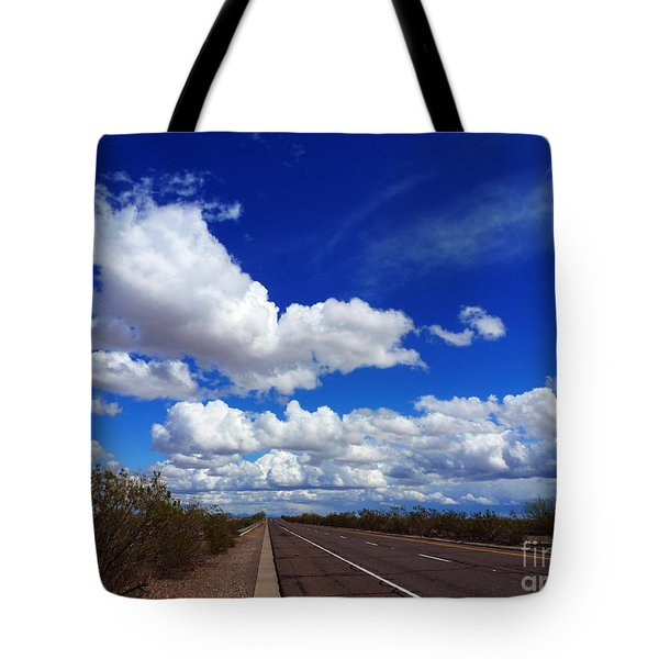 Sunrise Parkway Tote Bag by Methune Hively