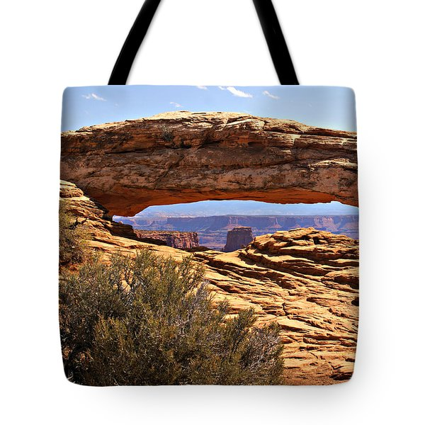 Sunset Arch Tote Bag by Marty Koch