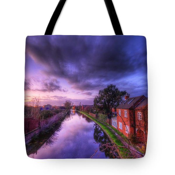 Sunset At Loughborough Tote Bag by Yhun Suarez