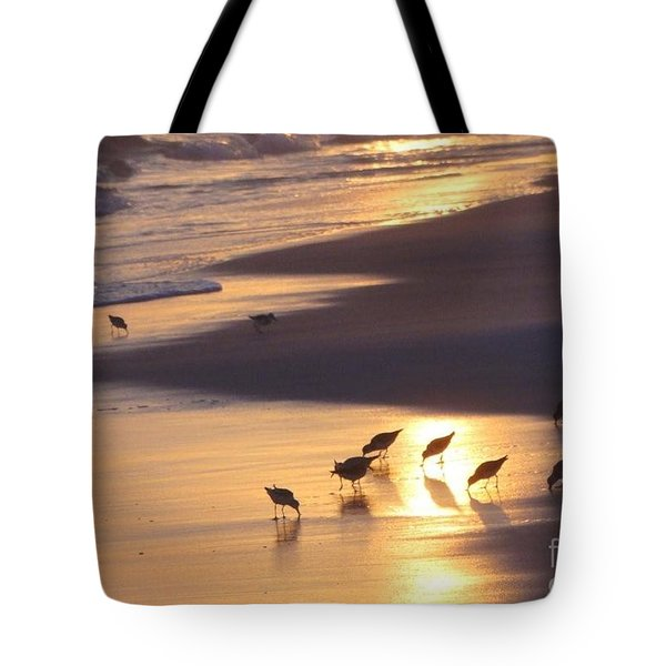 Tote Bag featuring the photograph Sunset Beach by Nava Thompson