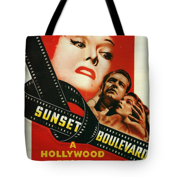 Sunset Boulevard Tote Bag by Georgia Fowler