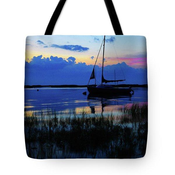 Sunset Calm Tote Bag