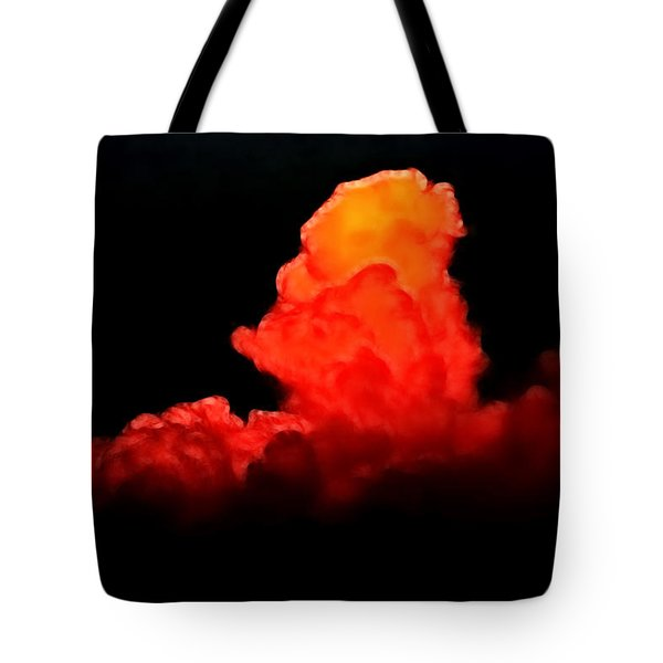 Sunset Cloud Tote Bag