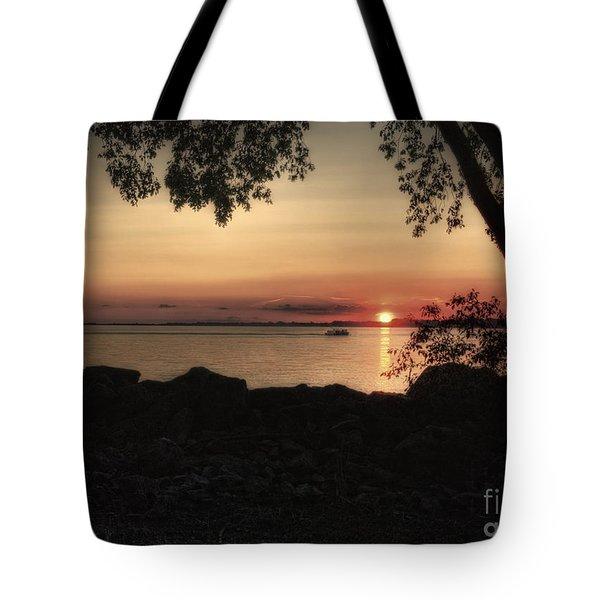 Sunset Cruise Tote Bag by Pamela Baker