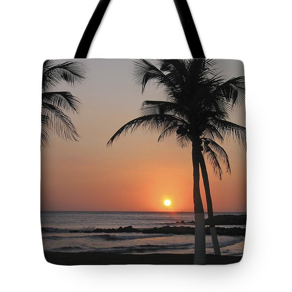 Tote Bag featuring the photograph Sunset by David Gleeson