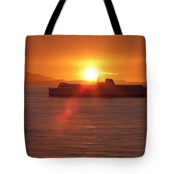 Sunset Tote Bag by Eunice Gibb