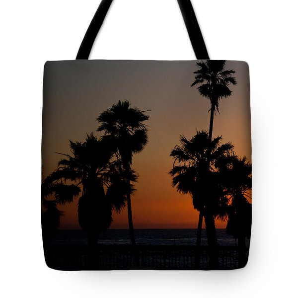 sunset in Califiornia Tote Bag by Ralf Kaiser