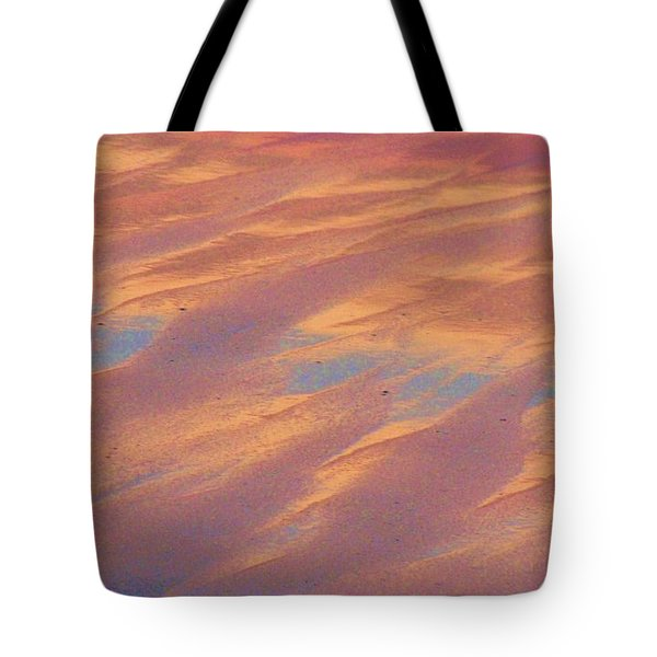 Tote Bag featuring the photograph Sunset In The Sand by Michele Penner