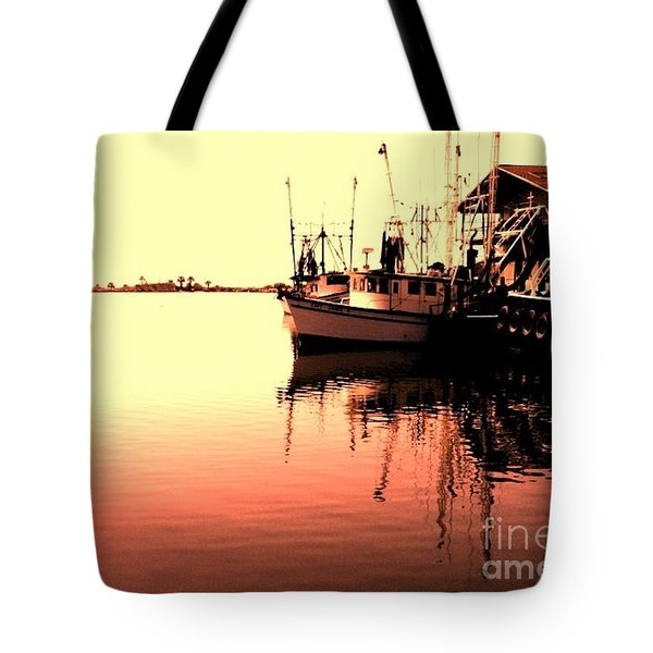 Sunset Tote Bag by Janice Spivey
