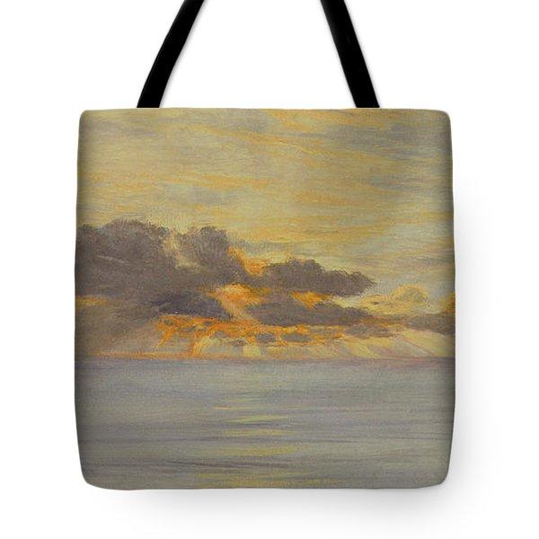Sunset Tote Bag by John Brett