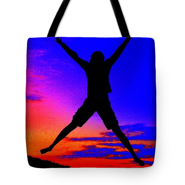 Tote Bag featuring the photograph Sunset Jubilation by Patrick Witz