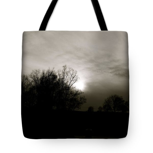 Tote Bag featuring the photograph Sunset by Kume Bryant