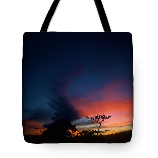 Sunset Leeward Oahu Tote Bag