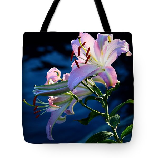 Tote Bag featuring the photograph Sunset Lily by Patrick Witz