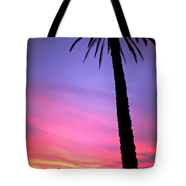 Tote Bag featuring the photograph Sunset by Luciano Mortula