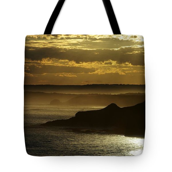 Sunset Mist Tote Bag