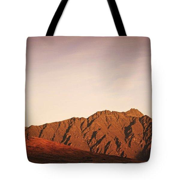 Sunset Mountain 2 Tote Bag