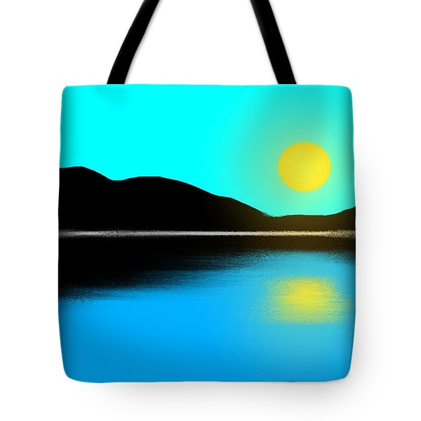 Sunset No. 2 Tote Bag by George Pedro