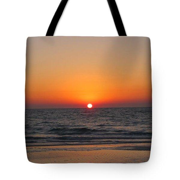Sunset On Longboat Key Tote Bag by Loretta Luglio