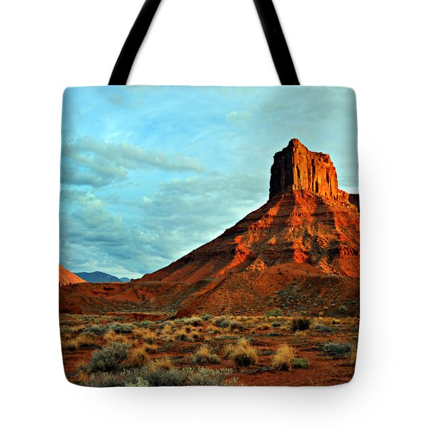 Sunset On The Mesa Tote Bag by Marty Koch