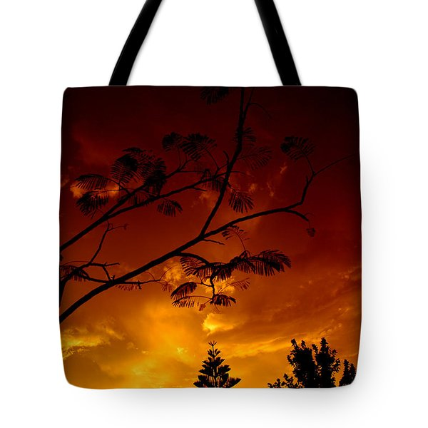 Sunset Over Florida Tote Bag