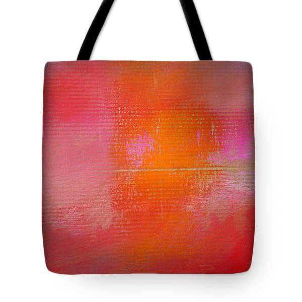 Sunset River Tote Bag by Charles Stuart