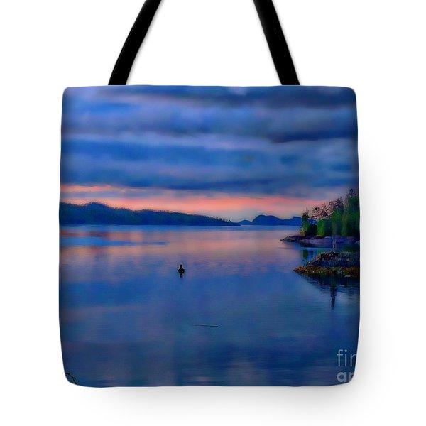 Sunset Softness Tote Bag