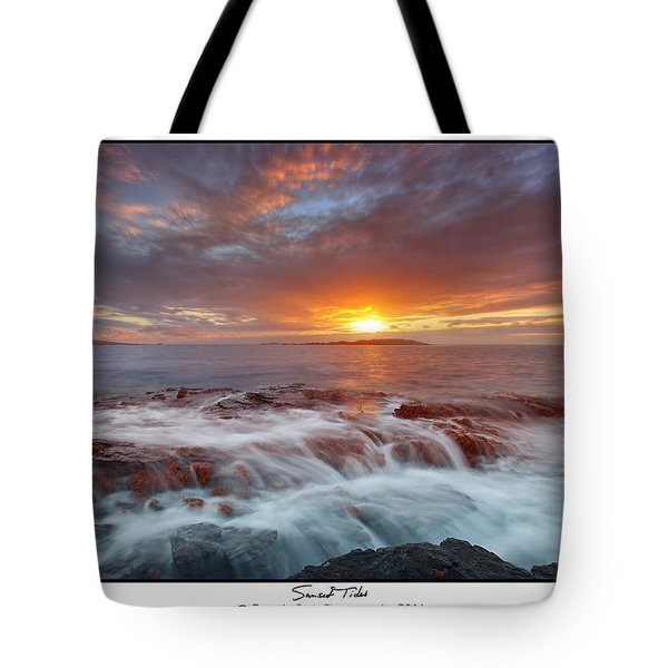 Sunset Tides - Cemlyn Tote Bag