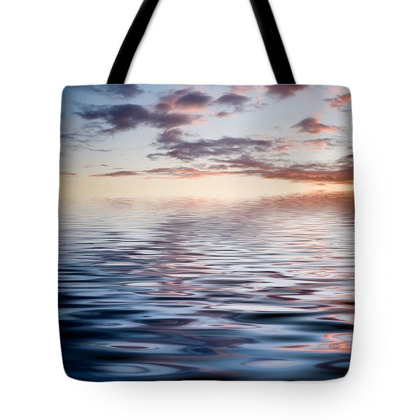 Sunset With Reflection Tote Bag by Kati Molin