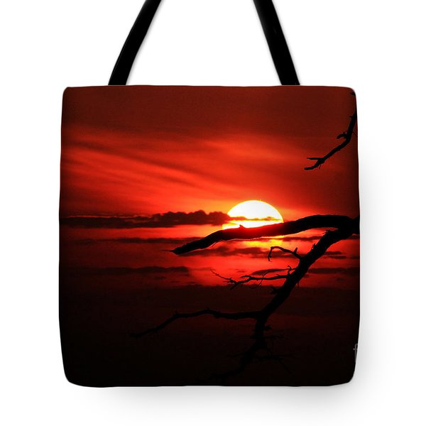 Sunset Zen Tote Bag